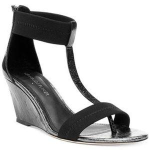 Donald J Pliner Palo Wedge Sandals Shoes Size 8.5M
